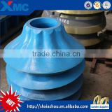 High Manganese Mantle and Bowl Liner for Cone Crusher Spare Parts machine mechanical machinery