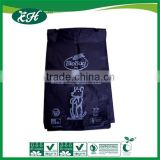 biodegradable custom dog waste bag with bone shape dispenser