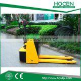 Used Warehouse Material Handing equipments 2.5T Semi Electric Pallet Truck Wholesale Price