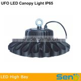 150w led high bay light UFO led industrial light 180w IP65 waterproof good use for warehouse,petro station,factory