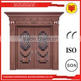 135' double leaf interior cold rolled steel swing doors latest design for flat