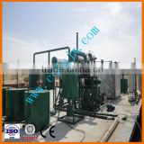 10 Tons Capacity Base Oil Distillation Equipment For Black Engine Oil To Lubricant Oil Machine