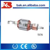 armature for hilti te 76 rotary hammer spare part rotor