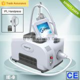 Skin Rejuvenation: High-endik pores, tighten skin, improve skin elasticity IPL hair removal IE-9