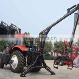 Good quality log loader crane and logger crane