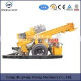 portable Integrated open-air DTH hydraulic Drill Rig for road ,train construction,mine , electric power project