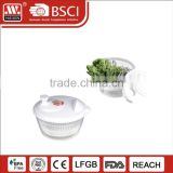 Eco-Friendly Plastic Vegetable Choppers Salad Spinner Maker With Strainers For Fruit & Vegetable