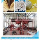 book binding used hot melt glue granules production line/hot sale adhesive making machine