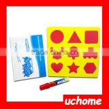 UCHOME Water Painting Drawing Writing Board Mat Magic Pen Doodle Toy For Baby Kids Gift