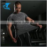 summer casual t-shirt man wearing body building and fitness gym muscle shirt plus size clothing
