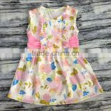 Manufacturer Wholesale Childrens Clothing Children Kids Party Dress Fashion Small Girl DressBY-D100