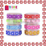 1.5cm*1m floral bling rhinestone deco tape for craft decoration