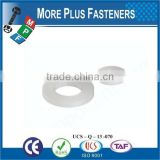 Made in Taiwan high quality plastic flat washer screw washer PVC Washer