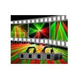 Sound Activated Multi Head Laser HF400GR four heads red&green disco laser flashing light