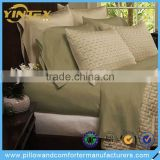 Soft Solid Bamboo Fitted King Size Bedroom Bedding Sets Bed Sheet