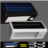 Solar Panel LED Flood Security Solar Garden Light PIR Motion Sensor 32 LEDs Path Wall Lamps Outdoor Emergency Lamp