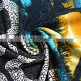 Sunset design modal fabric printing jersey knitted fabric