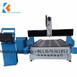 high performance and 3kw water cooling spindle wood stair cnc router machine
