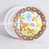 New Product Free Sample Food Paper Material/Animal Baby Show Hot Paper Plates