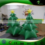 Christmas Decoration 2017 Inflatable Santa Claus Toys Tree Replica Ornaments Gift Bag Home Decor PVC Balloons