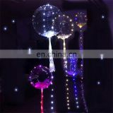 Party decoration led sparkle light inflatable balloon