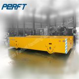 50 ton Battery Motorized Coil Transfer Cart/Battery Powered Factory Coils Material Transportation
