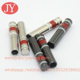 Dongguan Jiayang Aglet Enamel red /white/black color brass aglets for hoodie