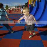 kid playground kushion playground tile pavers/safety mats