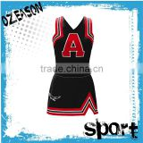 Custom fashion cheerleading uniforms, cheerleading crop top and skirt                                                                         Quality Choice