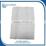 [soonerclean] High Quality White Color Embossed Home Fiber Cloth, Nonwoven Floor Cleaning Cloth