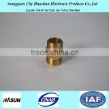 dongguan manufacturing service brass pipe fitting /copper fitting connections parts