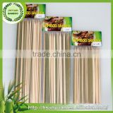 All different size professional bulk bamboo skewer in bbq tools