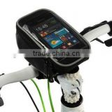 Bicycle cycling Frame Pannier and Front Tube Cell Phone Bag Backseat pack package