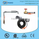 water pipe protection 220V water pipe heating cable with energy-saving thermostat for Europe