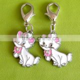 Cat shape pendants for cats or cat collars necklace