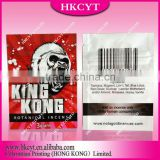 king kong 3g herbal incense ziplock bag