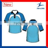 Wholesale Sublimation Sports Cricket Jersey Polo Design
