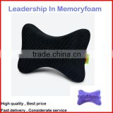PU memory foam car neck pillow for driving life, travelling neck pillow, car neck cushion available