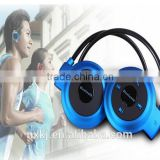 Stylish sport Mini 503 Stereo Bluetooth Headset Wireless Headphones Neckband Style for iPhone Android Notebook With Retail box