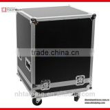 Black Aluminum Flight Case Flight Case Road Parts Tool box