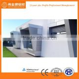 External aluminium wall cladding