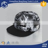 2016 whole sale embroidery logo sbulimation satin material stock 6 panel cap
