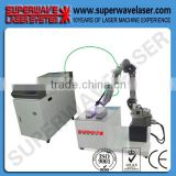 high quality laser spot soldering machine for repair dental Superwave Laser welding machine portable tig welding machine