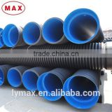 Free Samples Available SN8 400mm HDPE Double Wall Corrugated Drainage Pipe Fittings China Supplier