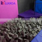 Color Custom Fire Resistant PU Pit Foam Cube For Amusement Park                                                                         Quality Choice