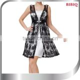Sexy Lady Backless Women Black Sleeveless Evening Party Cocktail Slim Lace Mini Dress