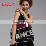 D006192 DTTROL printed shoulder ladies bags images dance leather bags for ladies and men