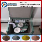 geology laboratory equipment fine pulverizer with manganese steel bowl