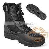 Tactical Boots of cowhide leather and nylon with comfortable liner/anti-slip and anti-abrasion
