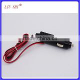12V Car Auto Battery Terminal Clip-on Cigarette Lighter Power Socket Adaptor